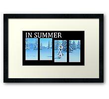 In Summer Framed Print