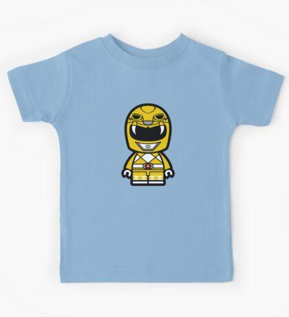 Yellow Ranger Chibi Lego Kids Tee
