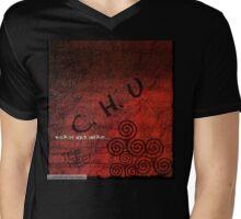 Chu Was Here Mens V-Neck T-Shirt