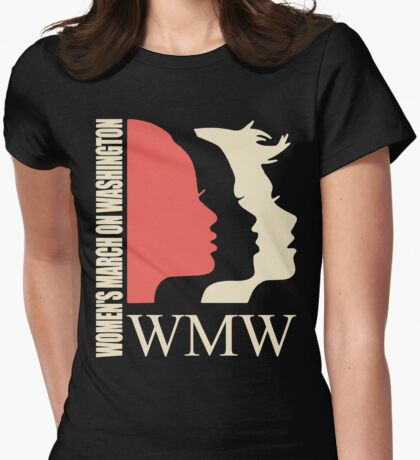 Women March On Washington WMW Womens Fitted T-Shirt