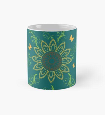 Sunflower mandala Mug