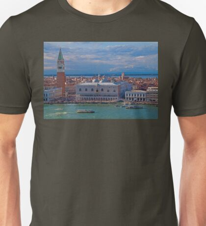 Italy. Venice. View from San Giorgio Maggiore Bell tower. T-Shirt