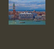 Italy. Venice. View from San Giorgio Maggiore Bell tower. Unisex T-Shirt