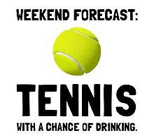 Weekend Forecast Tennis by AmazingMart