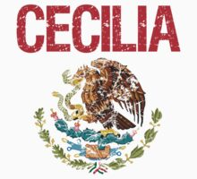 Cecilia Surname Mexican Kids Clothes