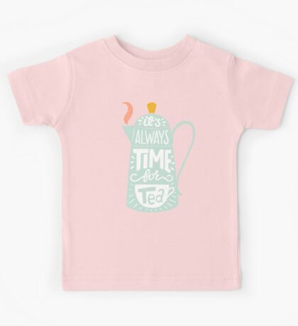 Tea saying Kids Clothes