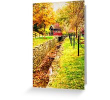 Whisky Creek Greeting Card