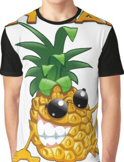Cool funny vegetable and Fruits Graphic T-Shirt