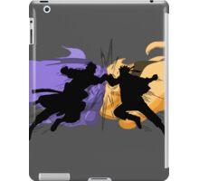Naruto vs Sasuke iPad Case/Skin