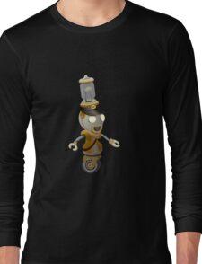 Glitch Inhabitants npc food mart Long Sleeve T-Shirt