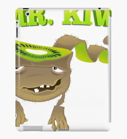 Cool funny vegetable and Fruits iPad Case/Skin