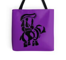 Strolling Elephant with Rider Tote Bag