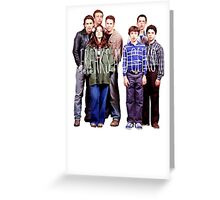 Freaks and Geeks Greeting Card