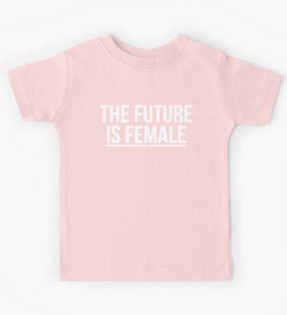 The Future is Female T-shirt KIDS + BABY Kids Tee