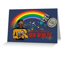 Reading Trek, Shirt Greeting Card