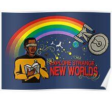 Reading Trek, Shirt Poster