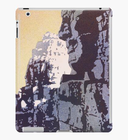 Bayon Buddhist Temple- Angkor Wat, Cambodia iPad Case/Skin