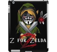 Z for Zelda iPad Case/Skin