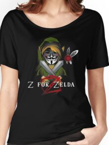 Z for Zelda Women's Relaxed Fit T-Shirt