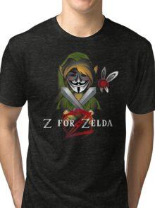 Z for Zelda Tri-blend T-Shirt