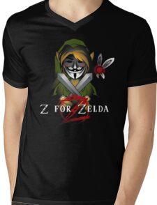 Z for Zelda Mens V-Neck T-Shirt