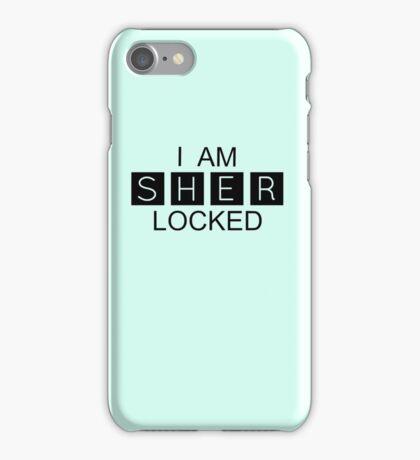 I AM SHER-LOCKED iPhone Case/Skin