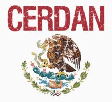 Cerdan Surname Mexican Kids Clothes