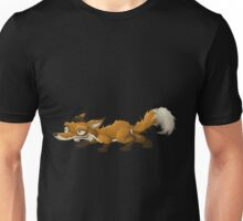 Glitch Inhabitants npc fox Unisex T-Shirt