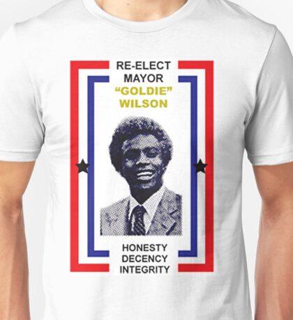 Re-Elect Mayor Goldie Wililson Unisex T-Shirt