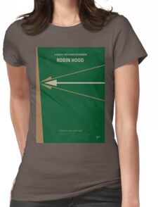 No237 My Robin Hood minimal movie poster Womens Fitted T-Shirt