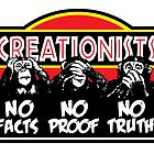 CREATIONISTS: Deaf, Blind, and Dumb! by atheistcards