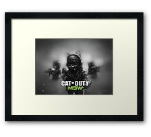 Cat of Duty 2 Framed Print