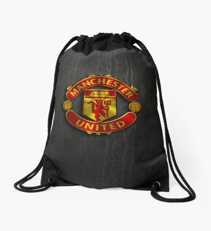 manchester united wallpaper Drawstring Bag