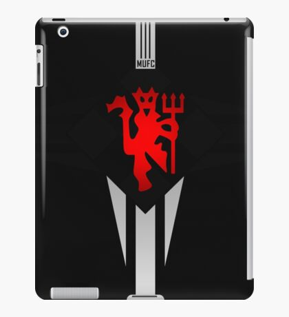manchester united best logo iPad Case/Skin