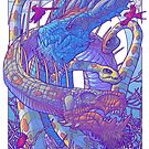 Family of Dragons II - Tyrant Wyrms by cs3ink