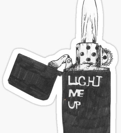 Light me up Sticker