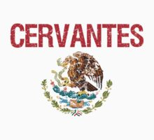 Cervantes Surname Mexican Kids Clothes