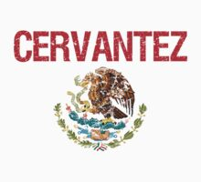 Cervantez Surname Mexican Kids Clothes