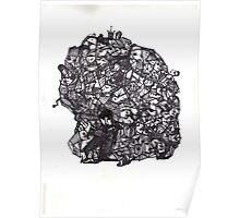 Brain Boulder Man Poster