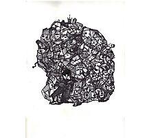 Brain Boulder Man Photographic Print