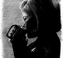 Coffee. Black. by Hailey Nova Quinn