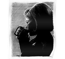 Coffee. Black. Poster