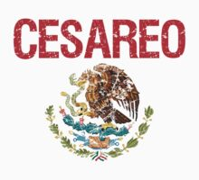 Cesareo Surname Mexican Kids Clothes