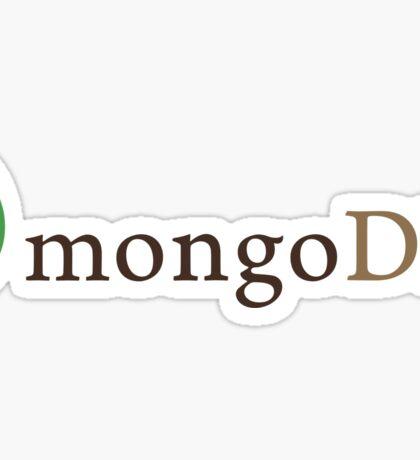 MongoDB Sticker