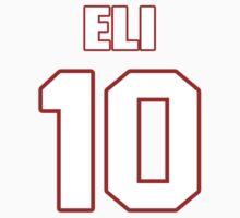 NFL Player Eli Manning ten 10 by imsport