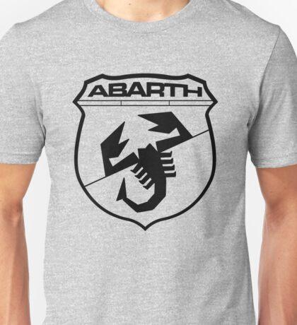 Logo Abarth (negro) Unisex T-Shirt