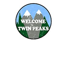 Twin Peaks Photographic Print