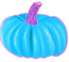 Blue Pumpkin by 1thedoodlingcat