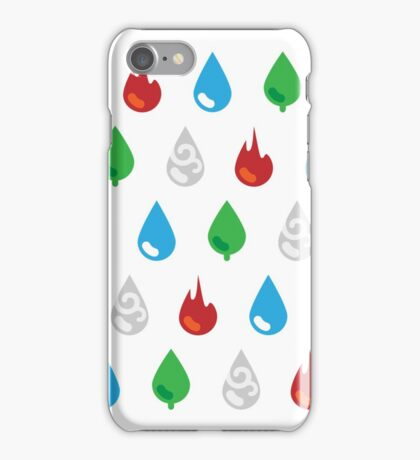 Four Element Droplets iPhone Case/Skin