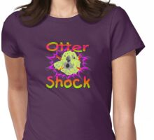 Otter Shock Womens Fitted T-Shirt